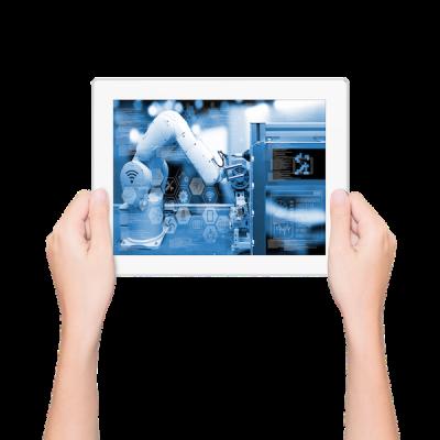 Home Page - iPad hands