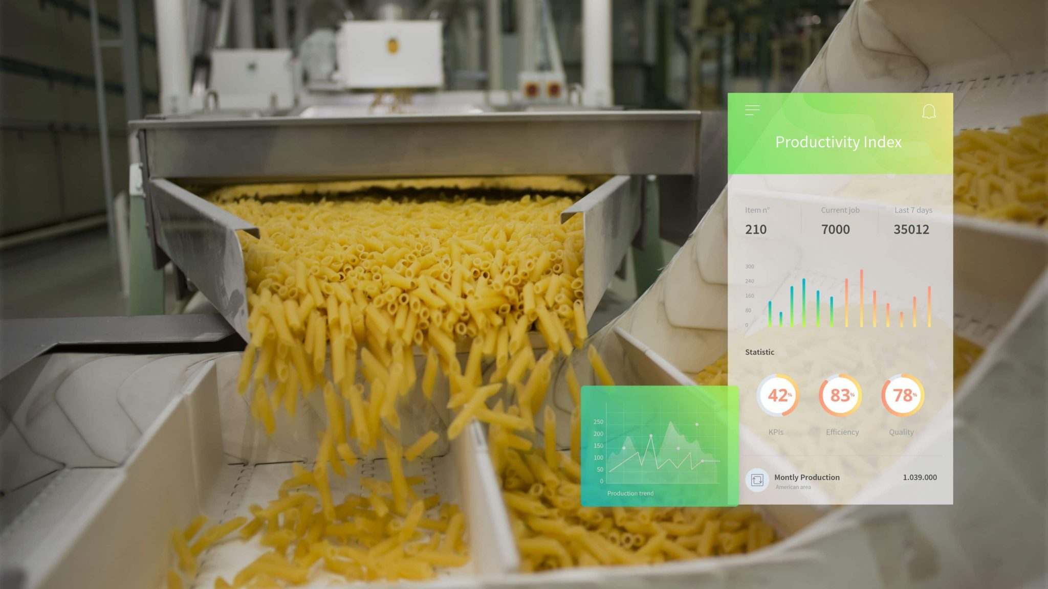 MES to digitize pasta production